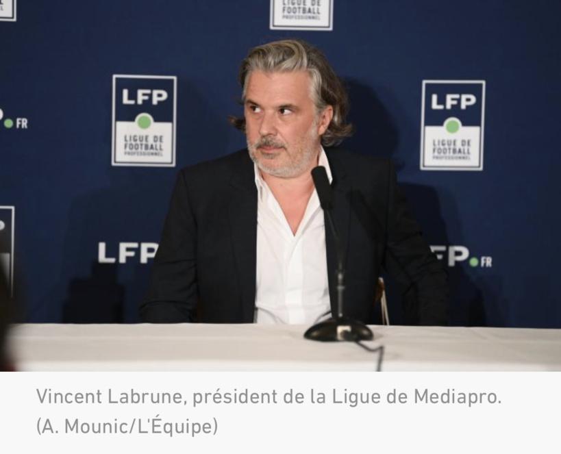 Droits télé : la LFP va solliciter un prêt pour compenser le non-versement de l'échéance due par Mediapro