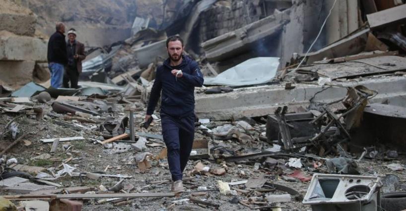 Haut-Karabakh: des missiles azerbaïdjanais s'abattent sur la capitale