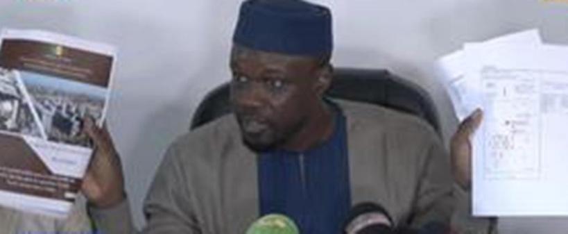 """Ousmane Sonko: """"Des immeubles sont en train d'être vendus par Macky en violation avec la loi"""""""