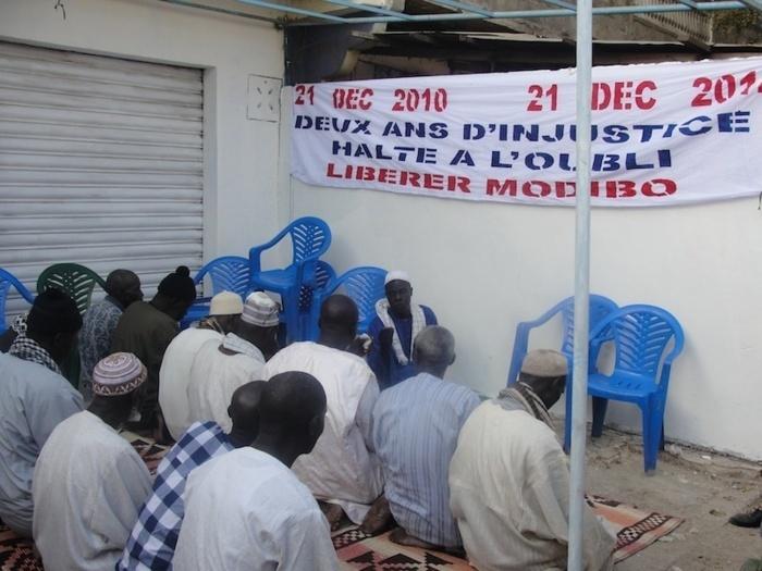 Modibo DIOP en prison, ses amis semblent préparer sa transhumance vers l'APR