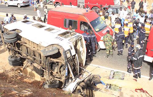 Accident mortel sur la route de Kaolack : Les explications du ministère des Transports