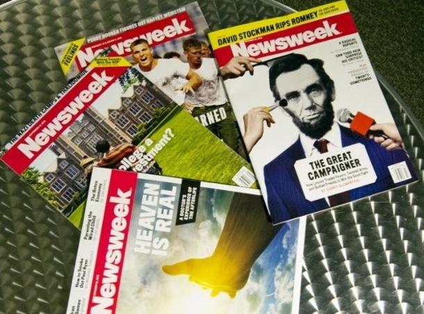 La presse papier perd un nouveau titre: Newsweek jette l'éponge