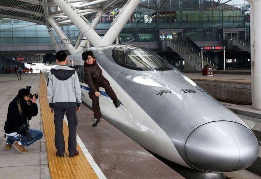 Chine: inauguration de la ligne de train à grande vitesse la plus longue du monde