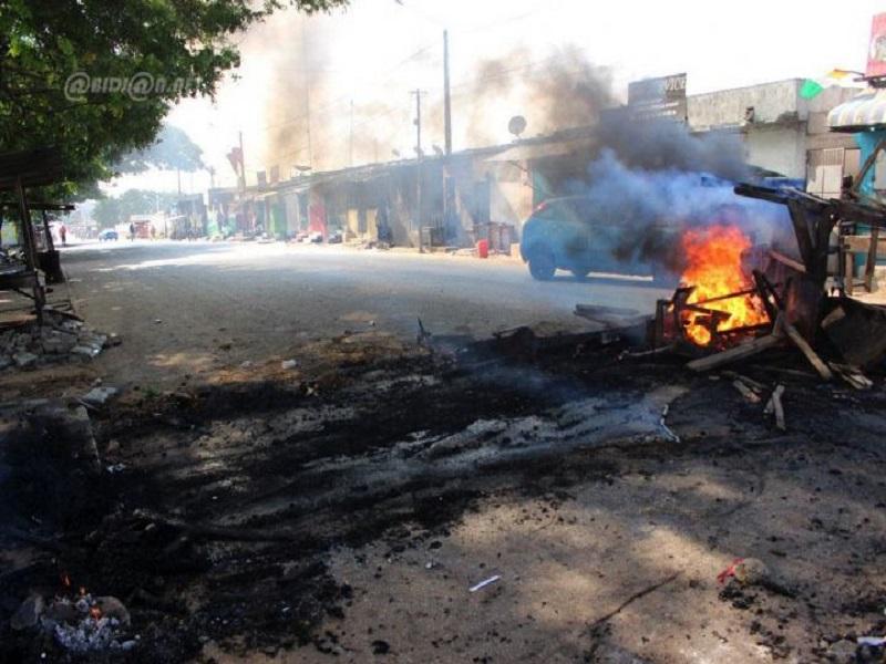 Manifestation de l'opposition: la ville de Bonoua paralysée ce lundi