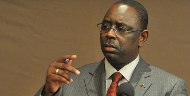 Macky Sall n'aime pas qu'on le traite d'anthropophage""