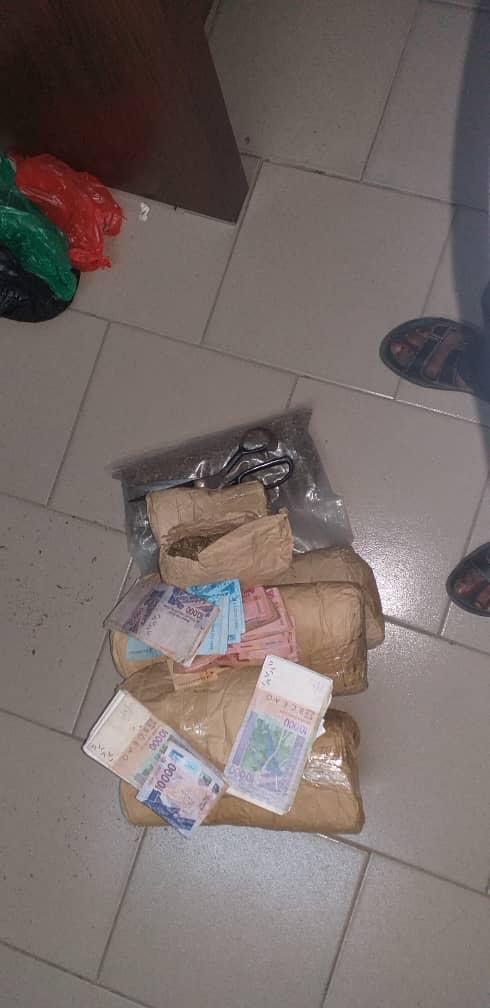 Keur Massar: la gendarmerie saisit 6 kilogrammes de chanvre indien et arrête deux individus