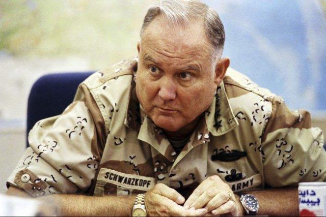 Etats-Unis: disparition du général Schwarzkopf, commandant en chef de la guerre du Golfe