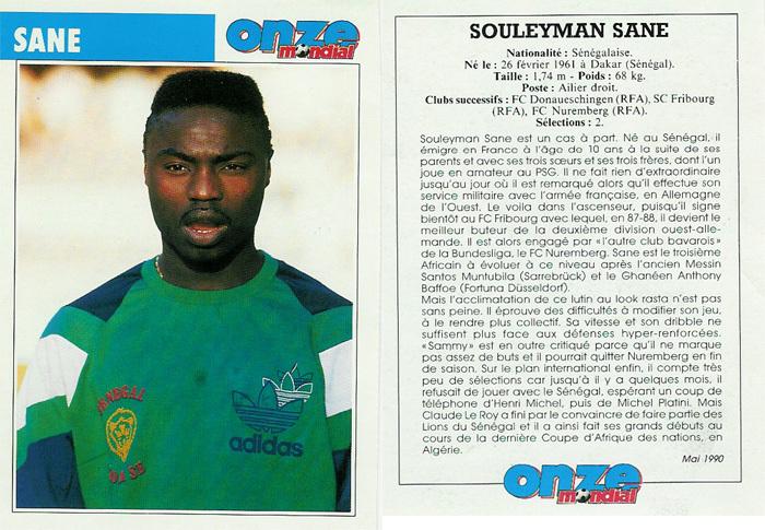 Souleymane SANE sur le football sénégalais et l'environnement de l'équipe nationale