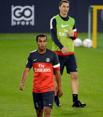PSG: Ibrahimovic élogieux envers la nouvelle recrue, Lucas Moura