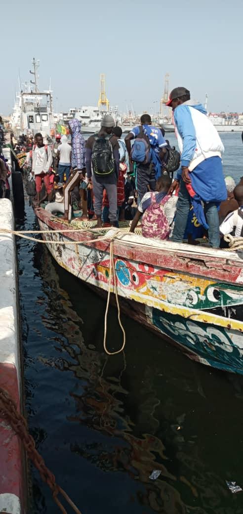 Quartier Pikine de Saint-Louis: au moins 20 jeunes ont péri en mer en essayant de rejoindre l'Europe