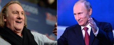 Vladimir Poutine accorde la citoyenneté russe à Gérard Depardieu