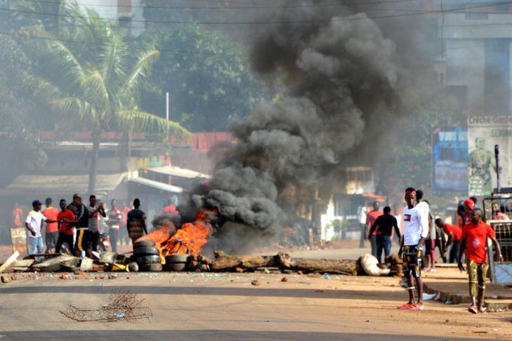 Guinée: une situation sécuritaire toujours tendue à Conakry
