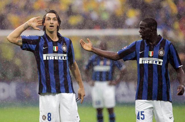 Ibrahimovic drague sévèrement Balotelli