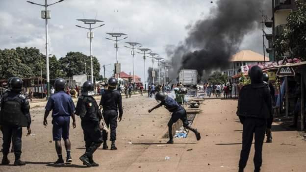 Violences postélectorales : 21 personnes tuées en Guinée