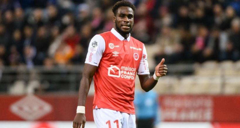 Boulaye Dia est le premier joueur du Stade Reims à marquer 3 buts lors d'un même match depuis 1978