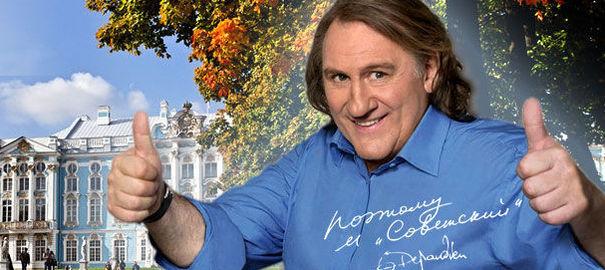 Hollande s'est entretenu avec Depardieu, ravi d'avoir un passeport russe