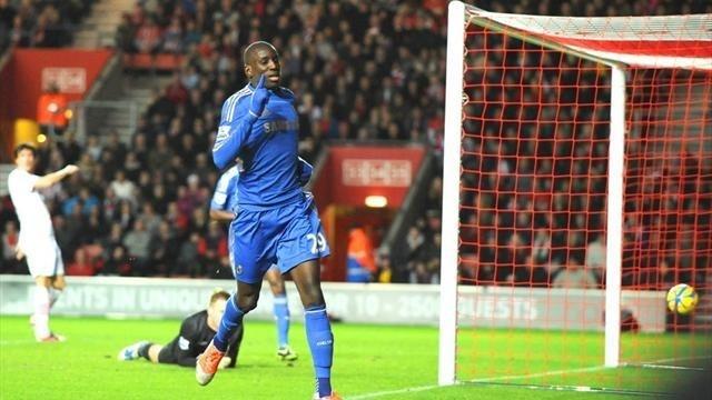Chelsea: Entrée réussie pour Demba Ba
