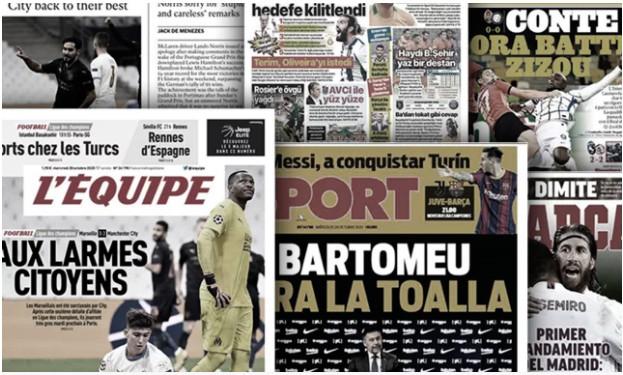 La démission de Josep Maria Bartomeu met le feu à la Catalogne, la presse madrilène bluffée par les héros du Real Madrid