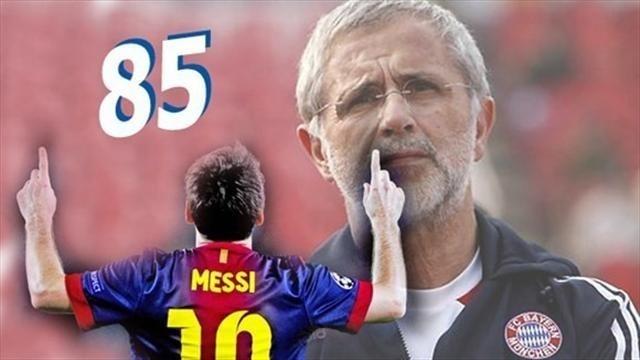 Après avoir été détrôné par Messi, Gerd Müller rend hommage à son successeur