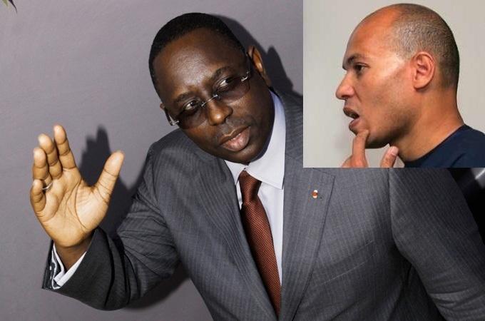 Barnos : Macky Sall « balaye d'un coup de pied » Karim Wade, au trône depuis le mois de novembre
