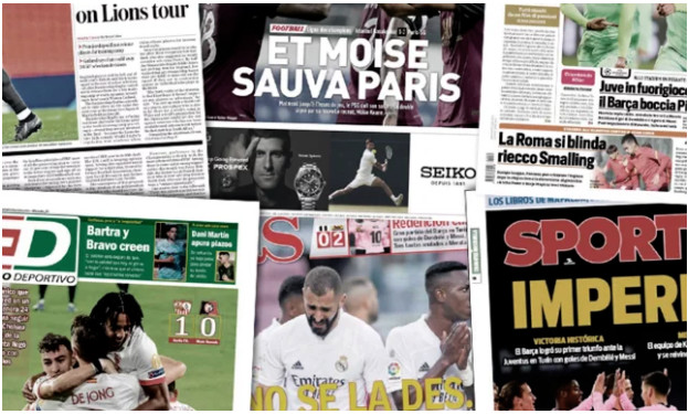La polémique Vinicius-Benzema enfle en Espagne, toute l'Angleterre se met à genoux devant Marcus Rashford