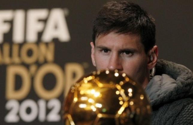 Lionel Messi Ballon d'Or 2012, le site de l'Equipe tue le suspense