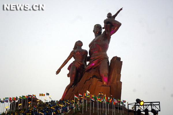 Le Monument de la Renaissance africaine audité