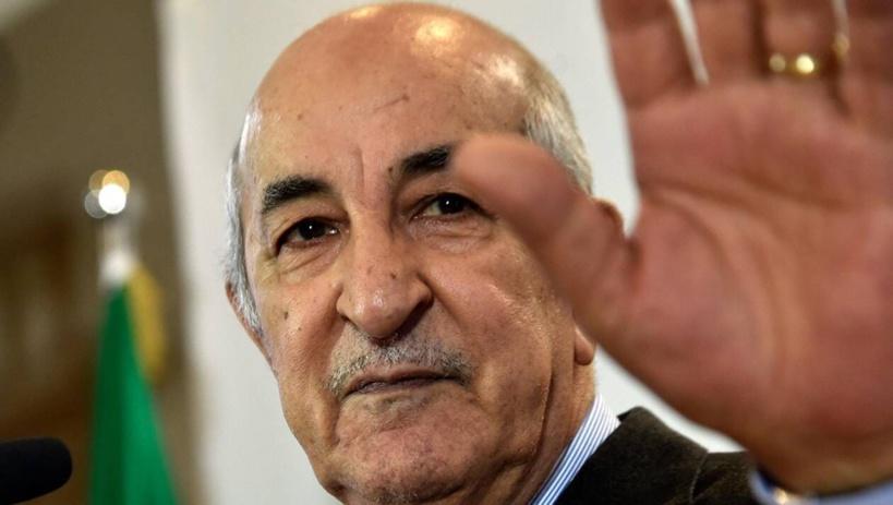 Le président algérien Abdelmadjid Tebboune positif au Covid-19