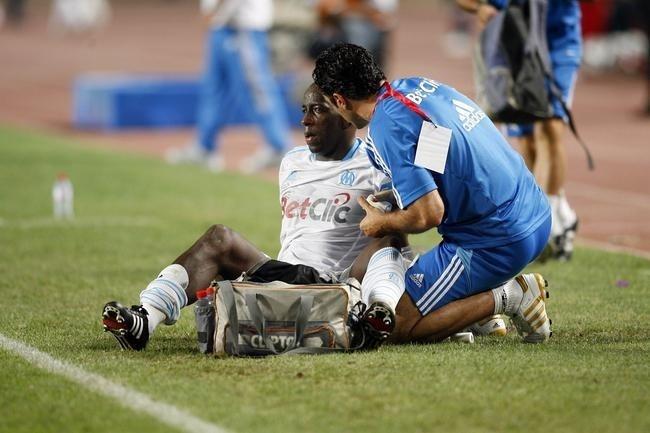 "OM: Diawara souffre de ""douleurs dorsales"""