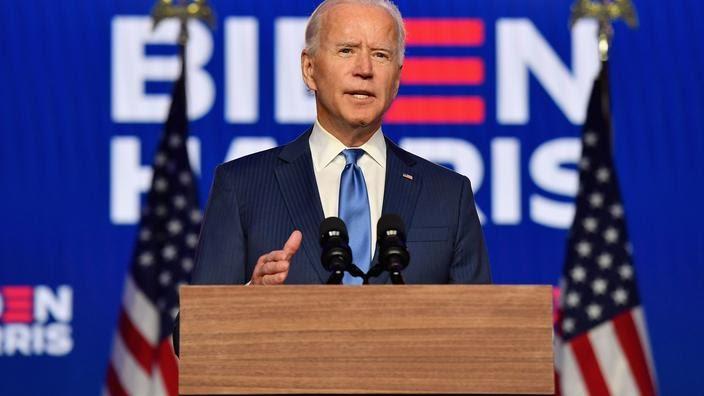 Joe Biden élu président des Etats-Unis