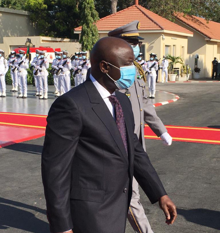 Idrissa Seck aux côtés de Macky Sall lors de la journée des Forces Armées