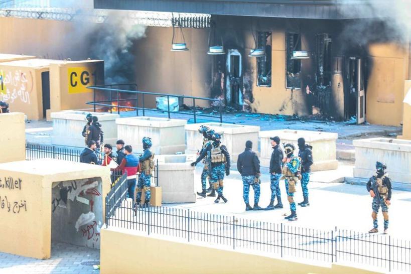 L'ambassade des Etats-Unis en Irak visé par une attaque aux roquettes
