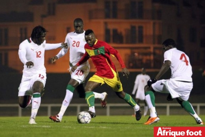 Sénégal-Angola aura lieu le 23 mars à Conakry