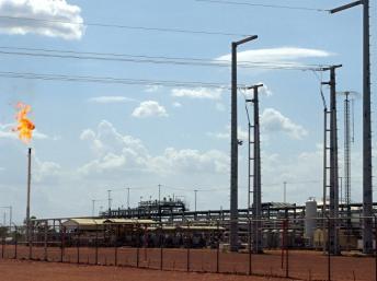 Griffiths Energy reconnaît avoir payé la femme de l'ambassadeur du Tchad aux Etats-Unis pour obtenir un permis pétrolier. AFP PHOTO / SONIA ROLLEY