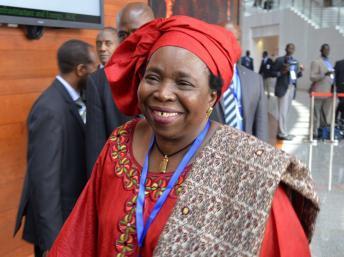 Nkosazana Dlamini-Zuma, présidente de la Commission de l'Union africaine. REUTERS/Tiksa Negeri