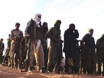 Des combattants du MNLA, le 2 février 2012. AFP PHOTO / MNLA