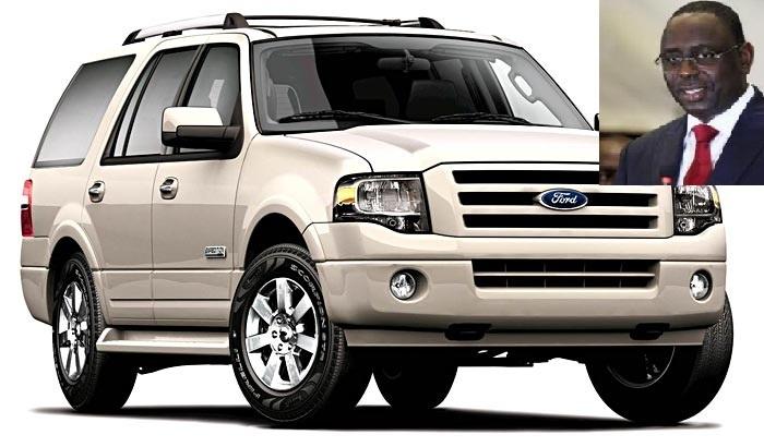 « Sobriété et gestion vertueuse » : Macky SALL s'offre huit (08) Ford Expédition & deux (02) blindés