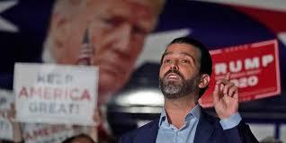 États-Unis: le fils de Donald Trump, a été testé positif au Covid-19