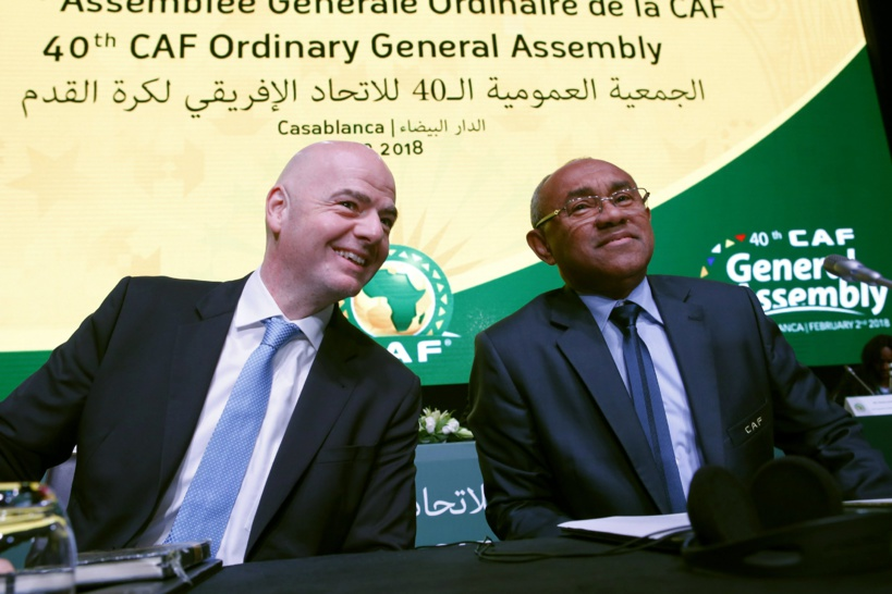 CAF: le président Ahmad est suspendu pour 5 ans par la Fifa