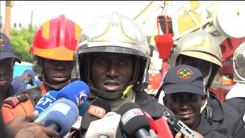 Commandant Mame Diène Ndiaye, chef des opérations au Port de Dakar ce mardi 24 novembre 2020