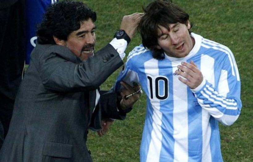 Décès de Diego Maradona : l'hommage de Lionel Messi
