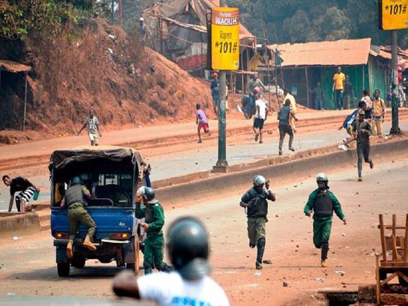 Labé : plusieurs blessés et des dégâts signalés lors de la répression de la manif de l'UFDG