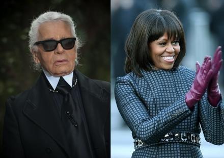 "(People) Karl Lagerfeld : ""Michelle Obama ressemble à une speakerine de LCI"""