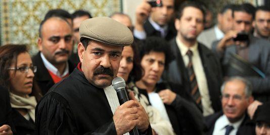 L'avocat Chokri Belaïd, figure de l'opposition tunisienne de gauche, a été victime d'un attentat, mercredi 6 février. | AFP/FETHI BELAID