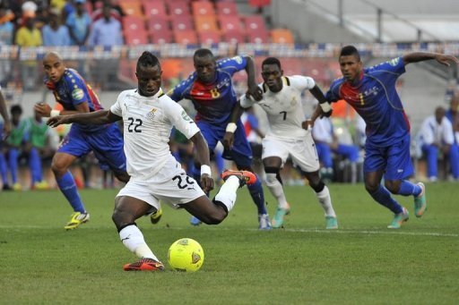 CAN 2013 - Wakaso titulaire, le 11 de départ  pour le Ghana