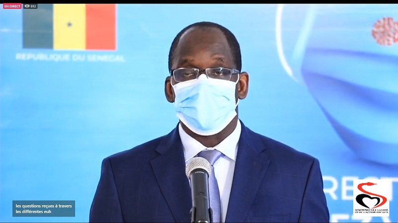 Hausse des cas Covid-19: Diouf Sarr annonce l'interdiction des regroupements et n'écarte pas un couvre-feu