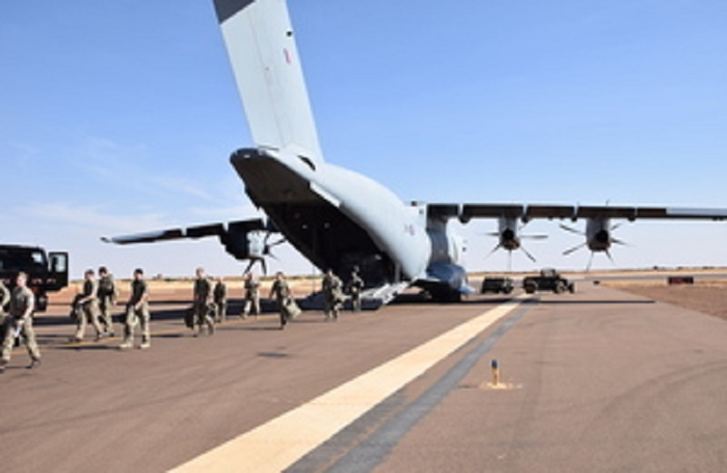 Mali: 300 soldats britanniques déployés dans le cadre de la mission de maintien de paix de l'ONU