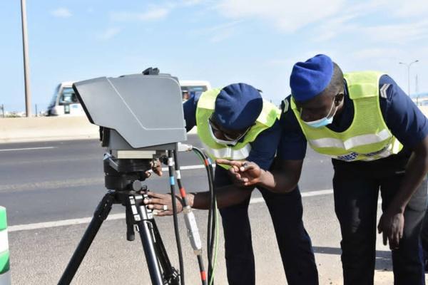 Lutte contre les accidents: la SECAA dote l'Autoroute de l'Avenir d' un radar automatique pour capter les excès de vitesse