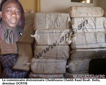 La Police sénégalaise saisit 724 kg de chanvre indien sur l'axe Bamako-Dakar