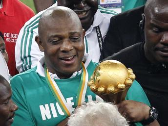 CAN 2013 - Stephen Keshi, le boss du Nigeria